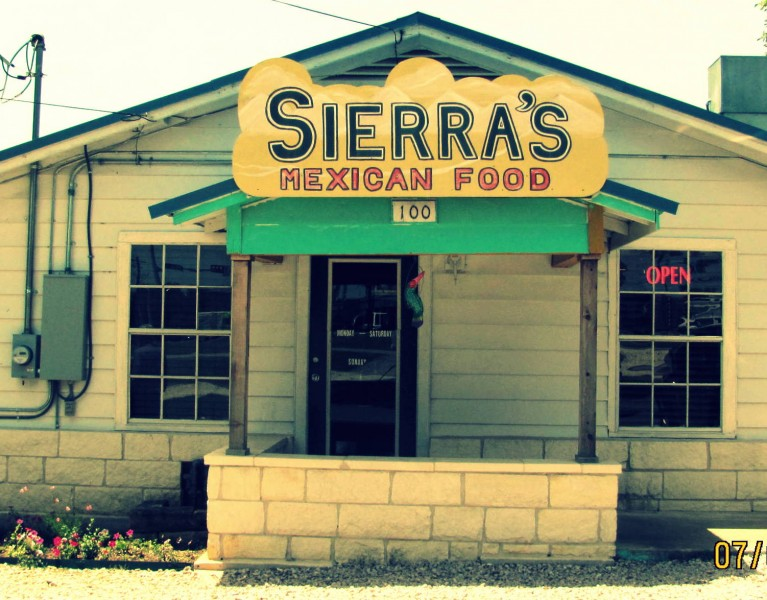 Sierra's Mexican Food Georgetown Texas