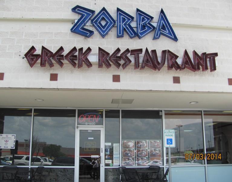 Zorba Round Rock Texas